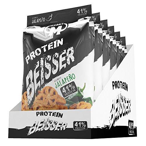 Mammut Protein Beisser Chips Jalapeño Jalapeno, 450 g