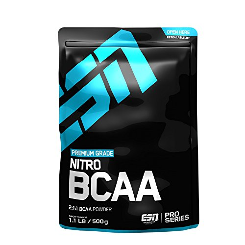 ESN Nitro BCAA Powder, 500g Lemon Iced-Tea