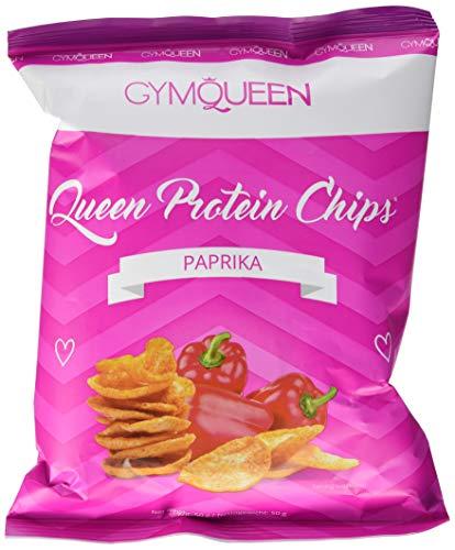 GymQueen Queen Protein Chips 6er-Karton - 6x50g - Paprika